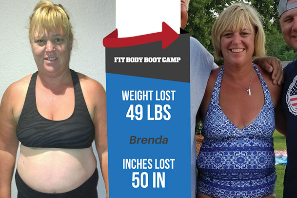 Fitness Before and After - Brenda Brown