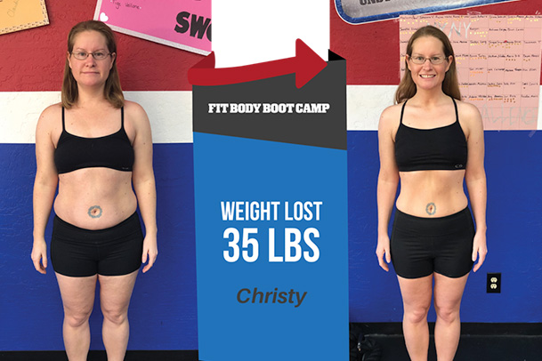 Fitness Before and After - Christy