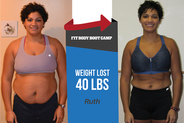 Fitness Before and After Ruth
