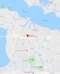 Manatee FBBC Bradenton Florida Map